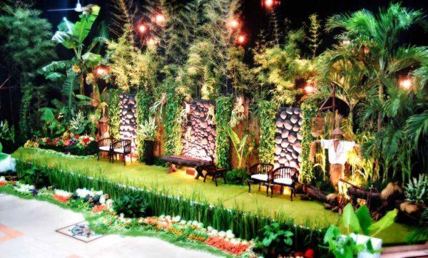 Foto Wedding Dg Dekorasi Pernikahan Outdoor Di Yogyakarta: Pusat Wedding Organizer Yogyakarta