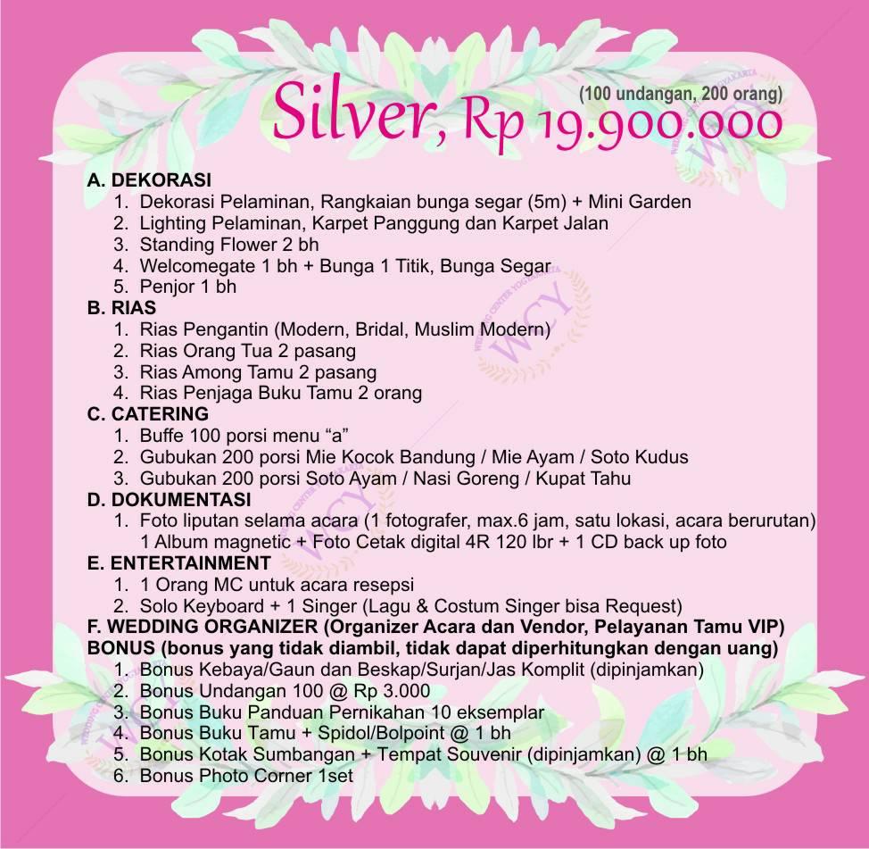 Paket Wo Yogyakarta Magelang 19 900 000 Pusat Wedding Organizer Yogyakarta